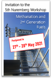 "Towards entry ""5th Methanation Workshop: Postponed to May 27th-28th 2021"""